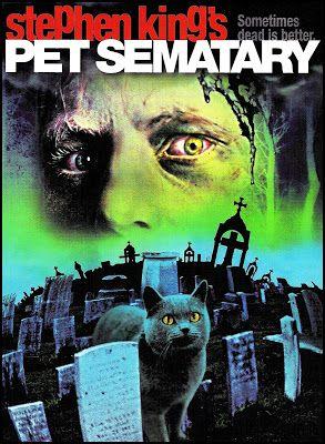 El Oscuro Rincón Del Terror Cementerio Viviente Pet Sematary Cementerio De Animales Peliculas De Terror Películas Clásicas De Terror