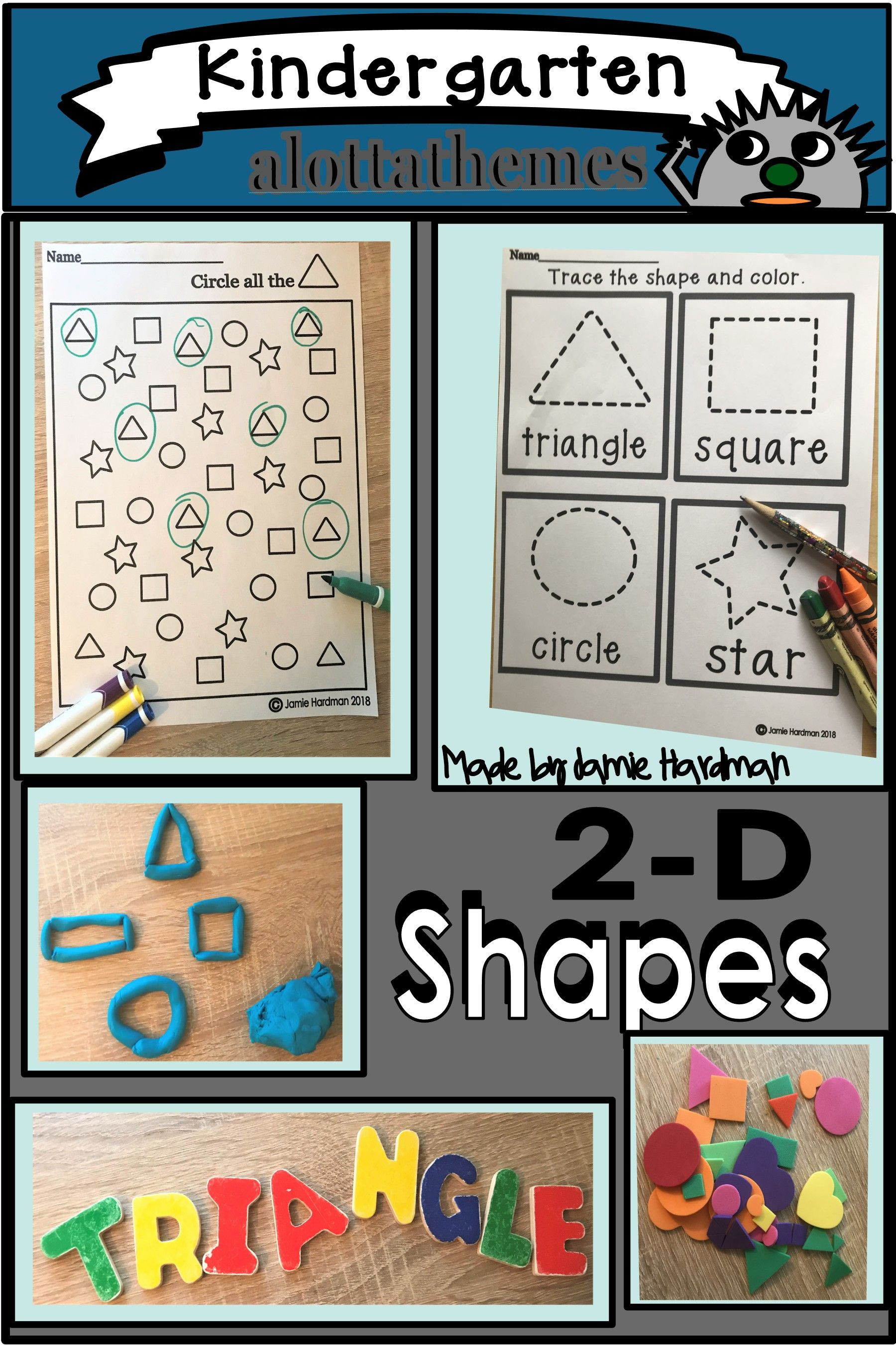 2d Shapes In