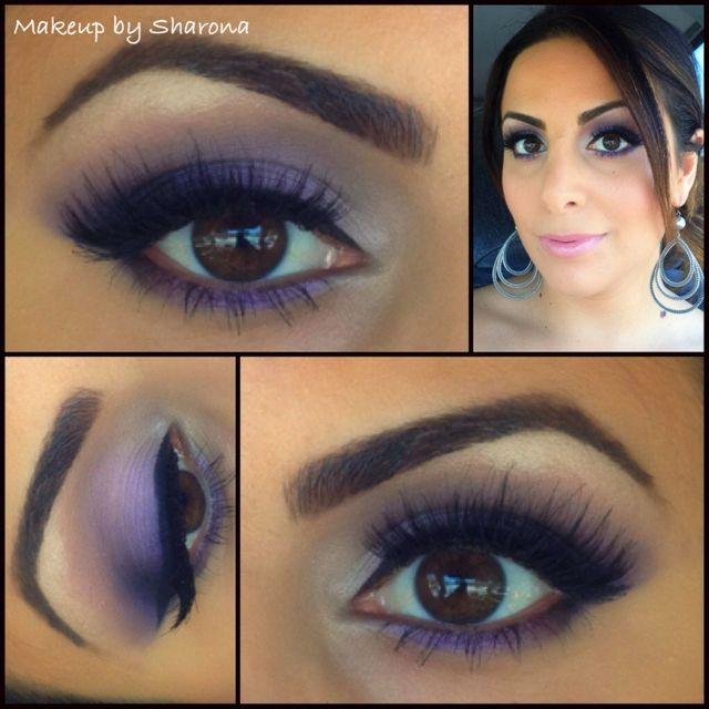 Purples Facebook Makeup By Sharona