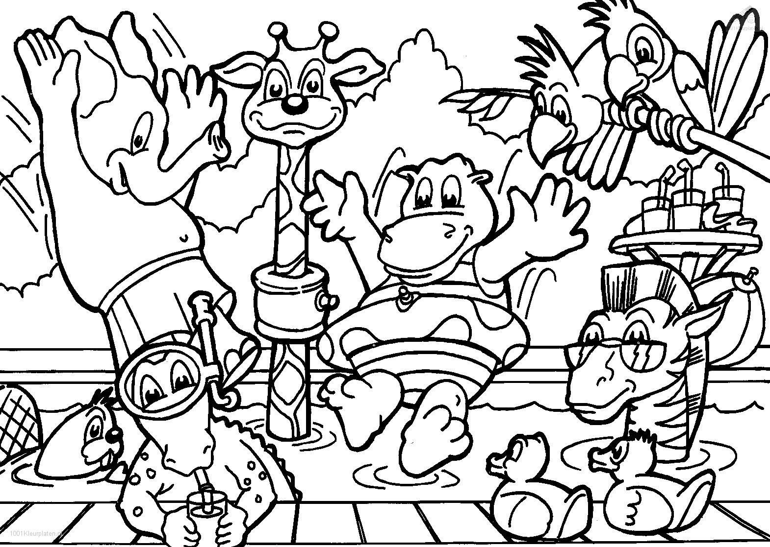 animals coloring pages for babies animals kids printables ...