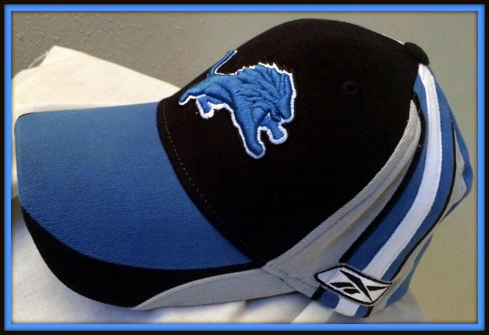 7dae4760 Details about DETROIT LIONS REEBOK ADULT ONE SIZE FITS ALL ...