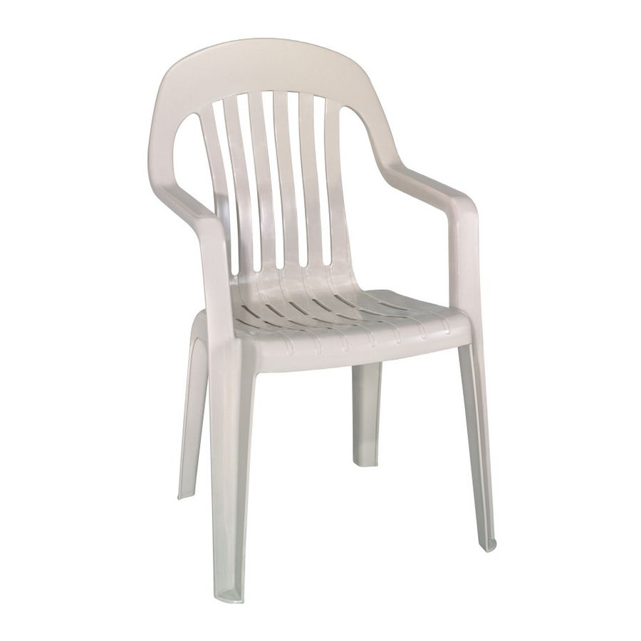 image of: single plastic patio chairs   cleaning tricks