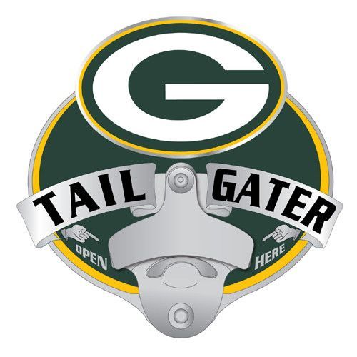 Siskiyou Green Bay Packers Large Logo Hitch Cover