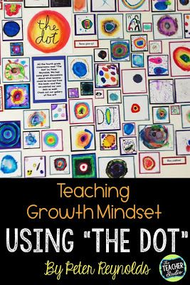 The Dot and Growth Mindset - The Teacher Studio
