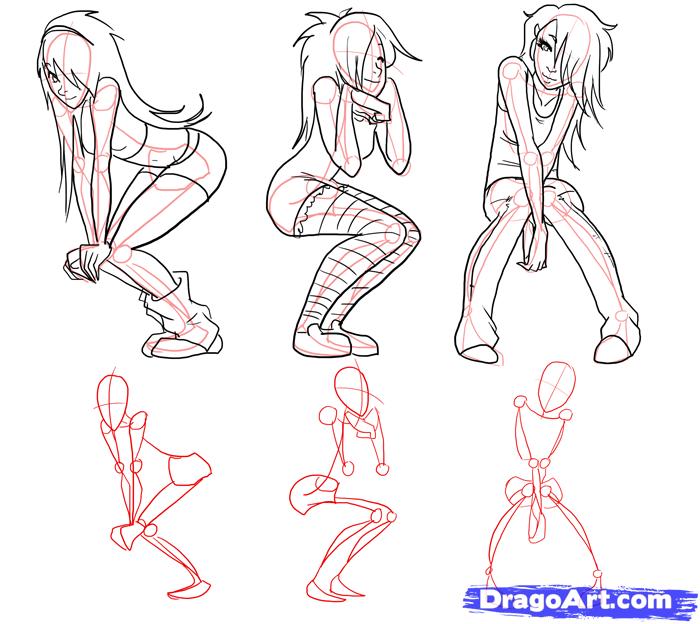 Anime Girl Drawing Poses - Google Search | 1 Pinu0026#39;s To Sort | Pinterest | Anime Girl Drawings ...