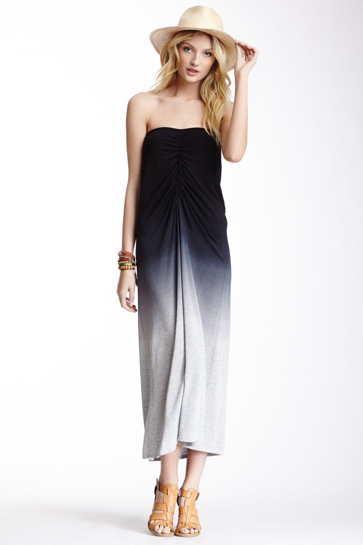 22b88a74ada Ruched Ombre Maxi Dress Maxi Skirt