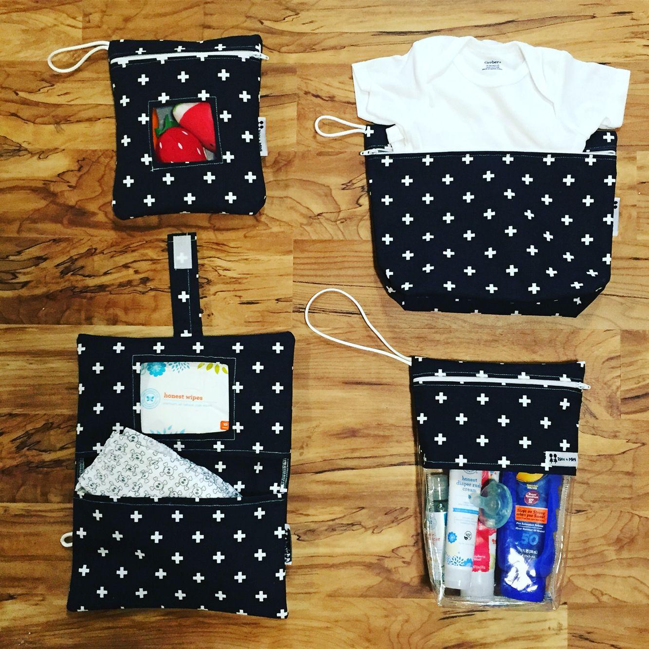 Diaper bag organization by Rilos + MiMi                                                                                                                                                                                 More