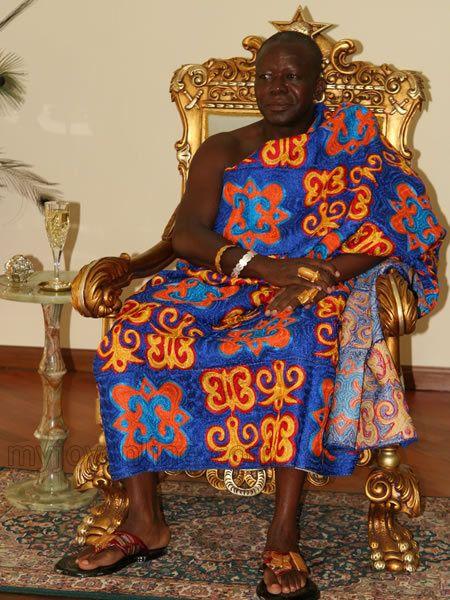 The King Of The Ashantis Asantehene Hrh Otumfuo Osei