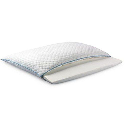 Sealy Half And Half Memory Foam Pillow 20 X 26 X 6