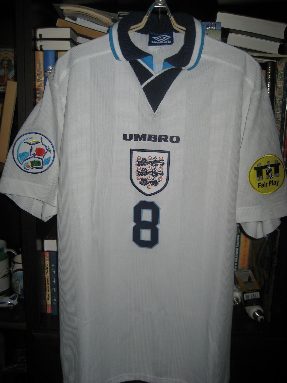 England football shirt 1996  a5eb1eb9cac92