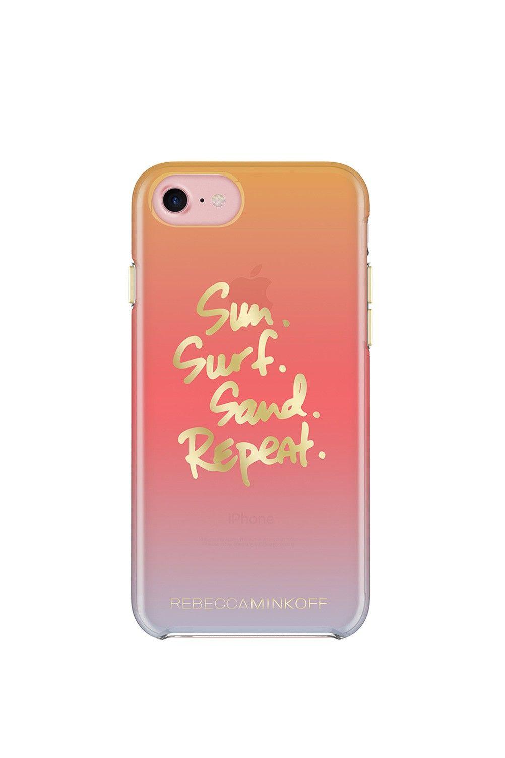 01ce101d9 REBECCA MINKOFF Sun Sand Surf Repeat Idiom Case For Iphone 7. # rebeccaminkoff #all