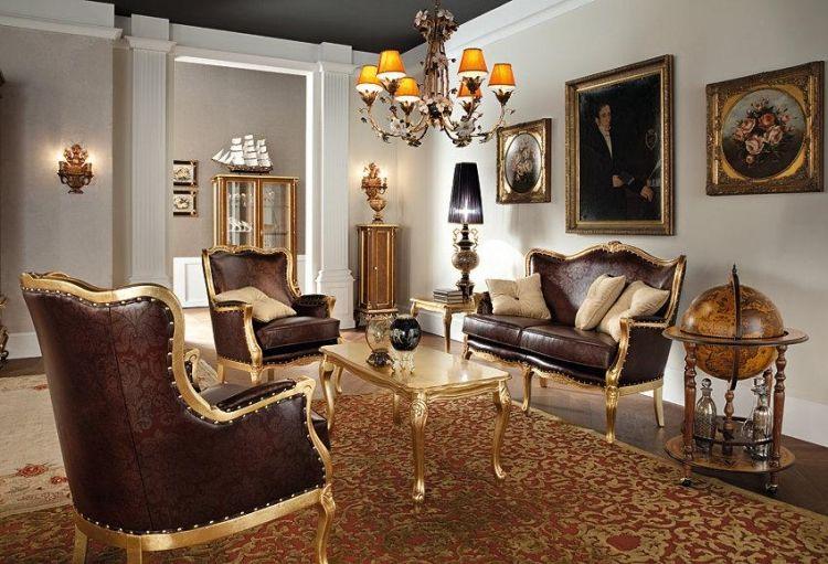 Barock Möbel bilden ein prachtvolles Ambiente #bett #barockstil ...