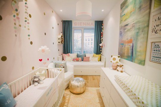 Sienna's Gorgeous Nursery with Room for Guests