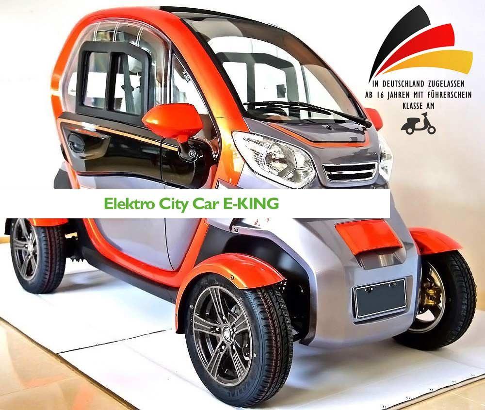 Elektro Auto E King E Leichtkraftfahrzeug Scooter Kabinenroller Max 45 Km H Autos Elektro Und Elektroauto