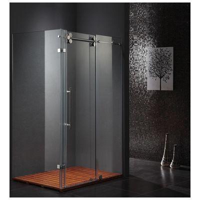 Vigo Vg6051chcl60 36 X 60 Reqtangular Shower Enclosure