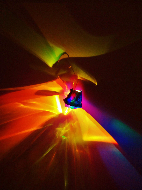 Light on Canvas by Laurent Fort Medium : LED light source