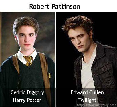 Twilight Vampire Edward Cullen Is Cedric Diggory Of Harry Potter Harry Potter Twilight Cedric Diggory Edward Cullen