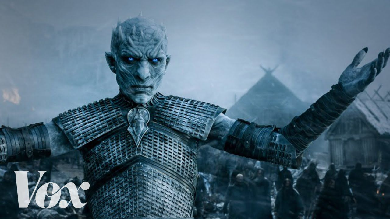 Game of Thrones is secretly all about climate change. White Walker army of the dead sure to wipe out humankind = Climate change Lannisters, Starks (RIP), Baratheons, Boltons, Martells = Government officials/climate change skeptics The Men of the Nights Watch = Climate change scientists who have to sit on the sidelines The Wildlings = The general population who suffer from the government's inability to act