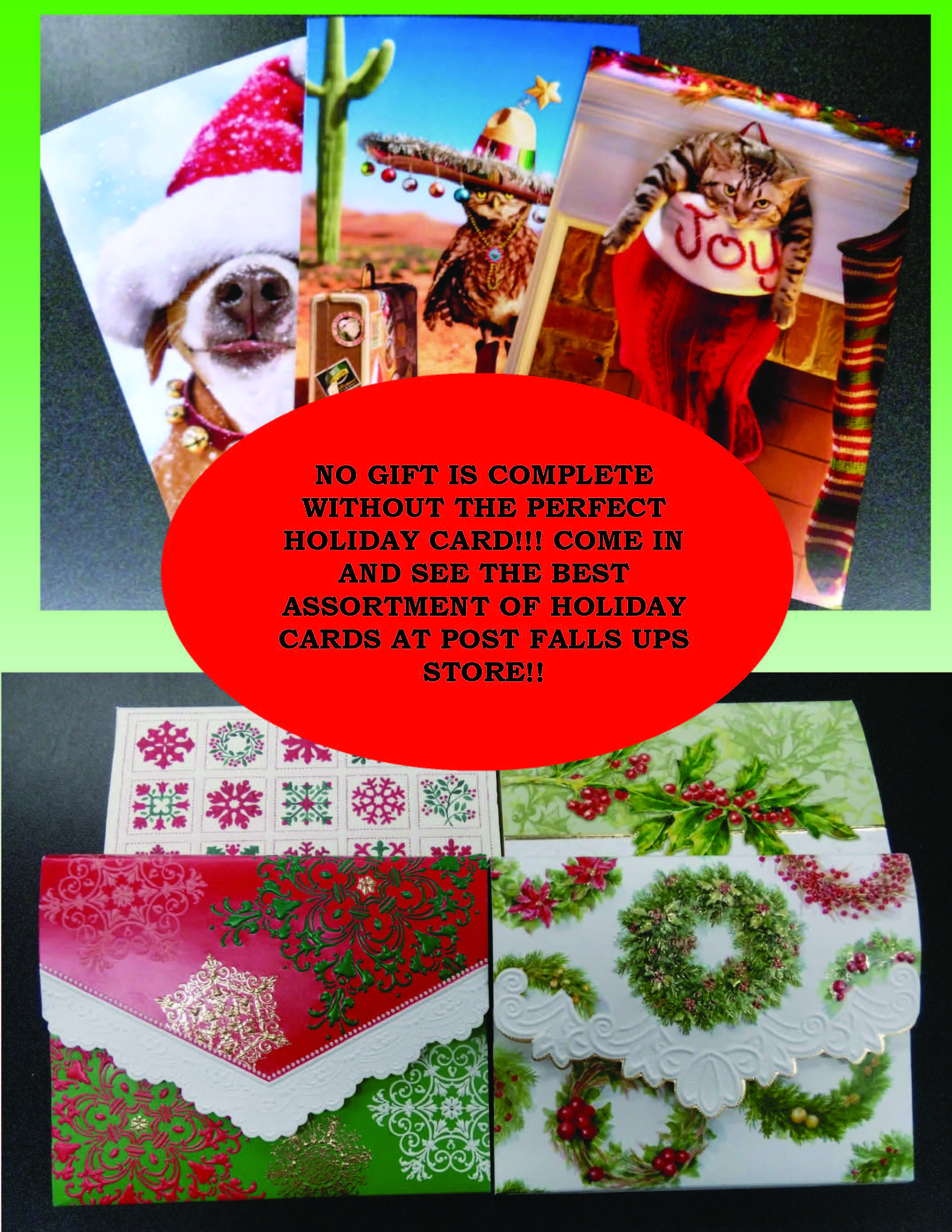 Christmas Cards Fun At The Ups Store Pinterest Christmas Cards