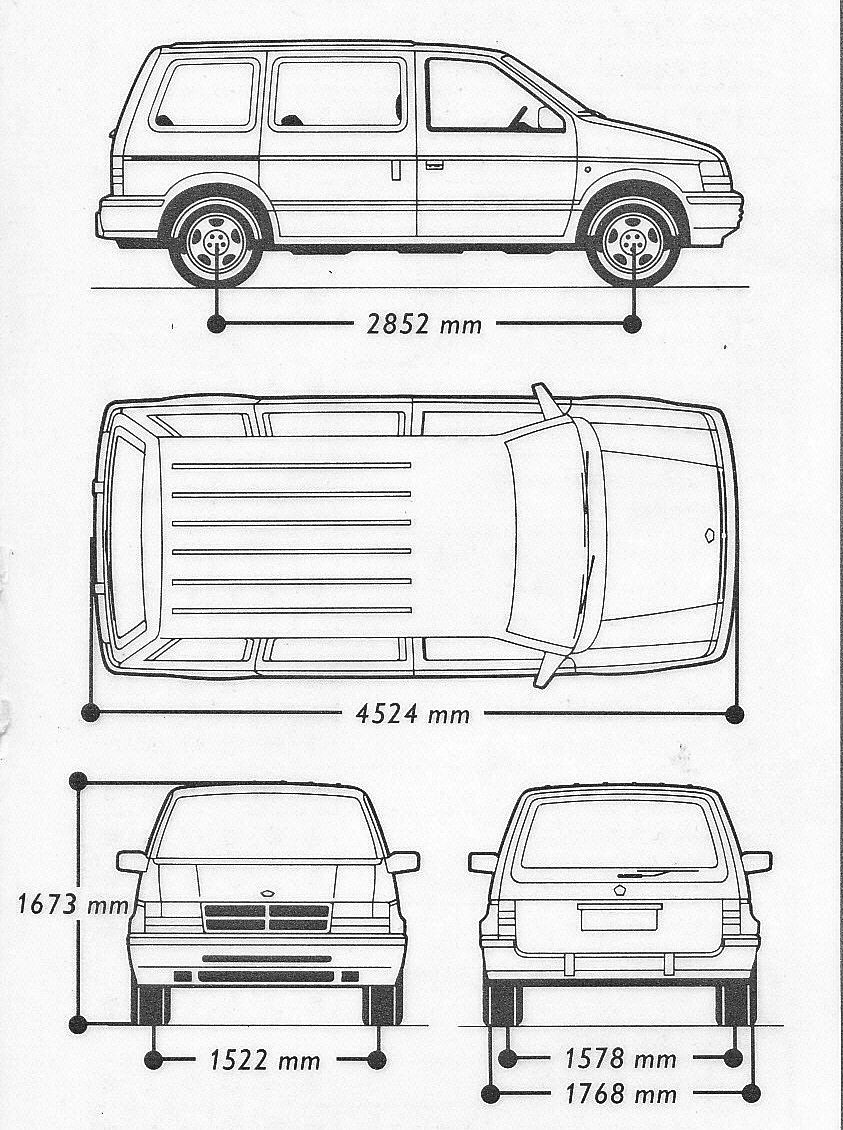 Chrysler Voyager Blueprint Chrysler Voyager Chrysler Cars Chrysler