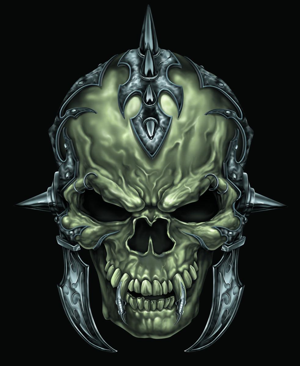 Gladiator Skull. Digital Illustration. Photoshop. 2007 Www