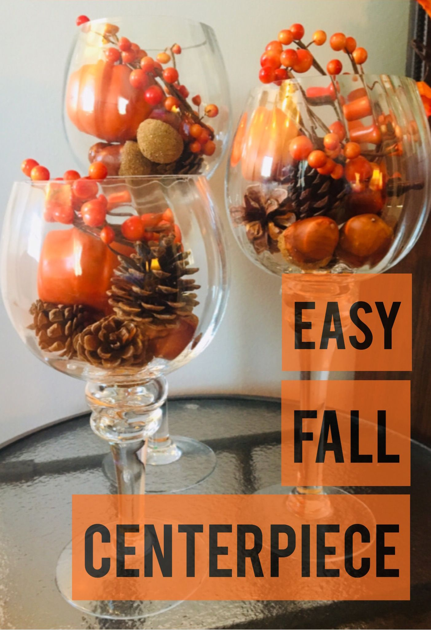 Photo of Easiest Fall Centerpiece Ever