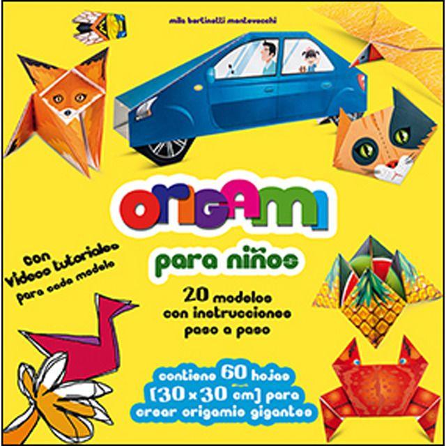 Photo of Origami für Kinder: 20 Modelle mit Schritt-für-Schritt-Anleitung (Softcover)