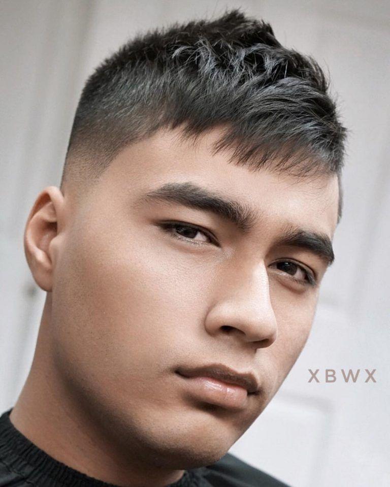 Receding Hairline Haircuts Caucasian Hispanic Asian Hair