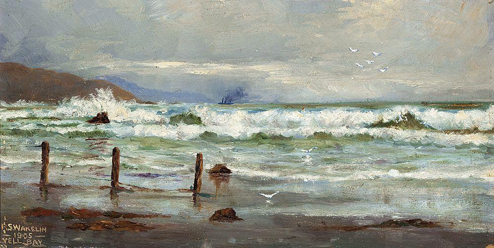Lyall Bay, Wellington, 1905