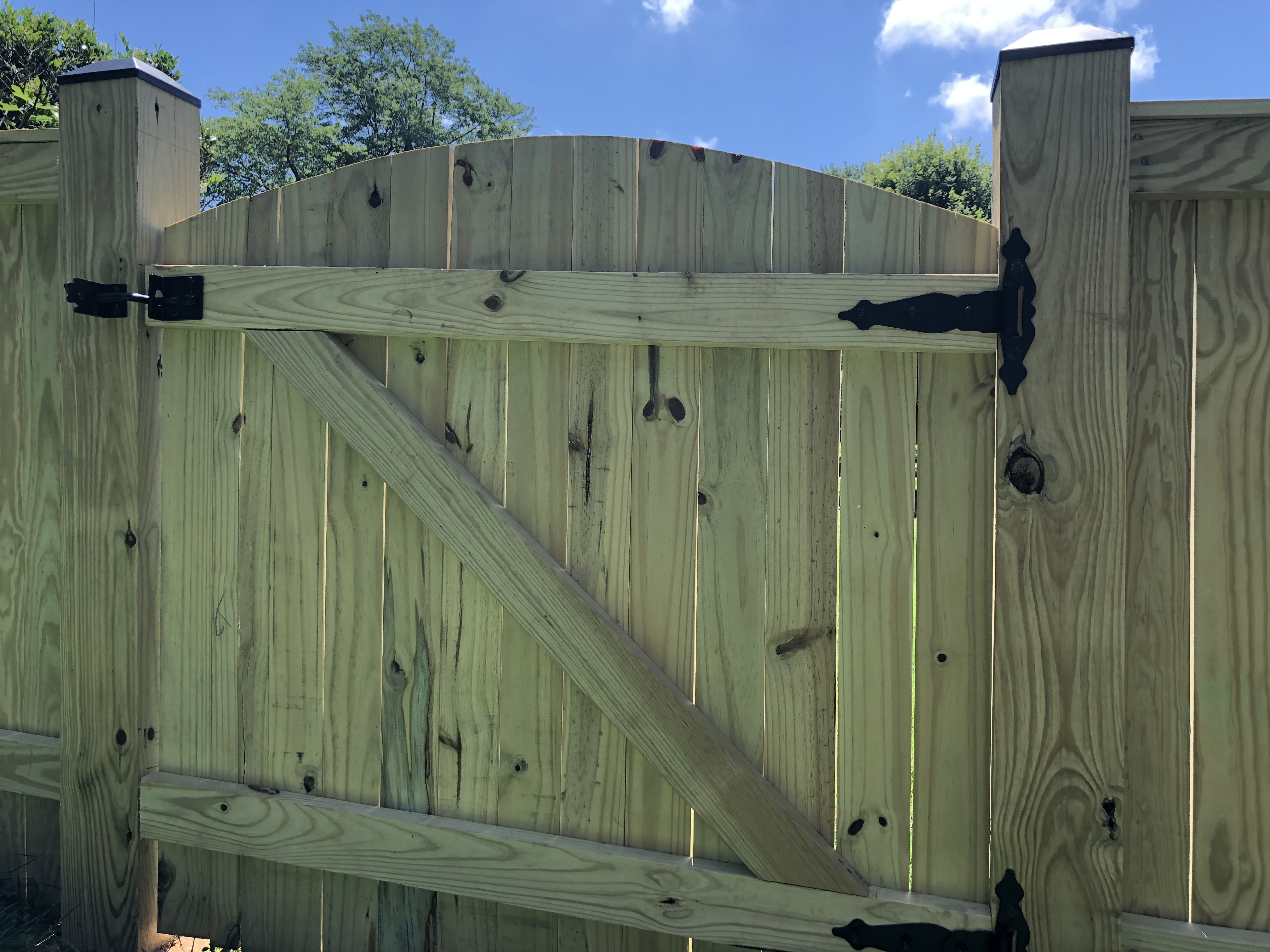 4 Privacy Fence Gate Ideas