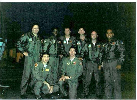 """In the early morning of January 16, 1991, the 2nd Bomb Wing deployed seven B-52G Stratofortresses crews to Iraq in a single, secret mission that would mark the beginning of Operation Desert Storm. Strategic Air Command called the classified 35-hour mission Operation Senior Surprise, known as """"Secret Squirrel"""" to the operators who would fly the mission. The bombers traveled more than 14,000 nautical miles non-stop and was the longest combat mission in history at the time."""