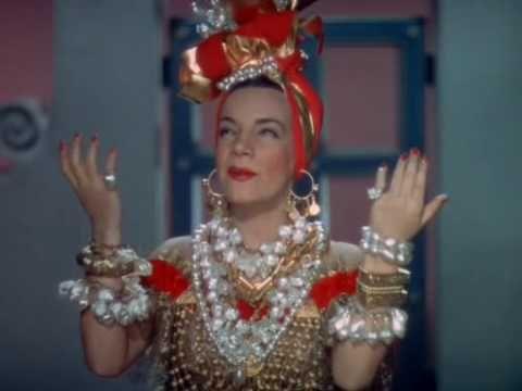 Carmen Miranda 1940 Mama Eu Quero Avi Carmen Miranda Carmem Miranda Musica Latina
