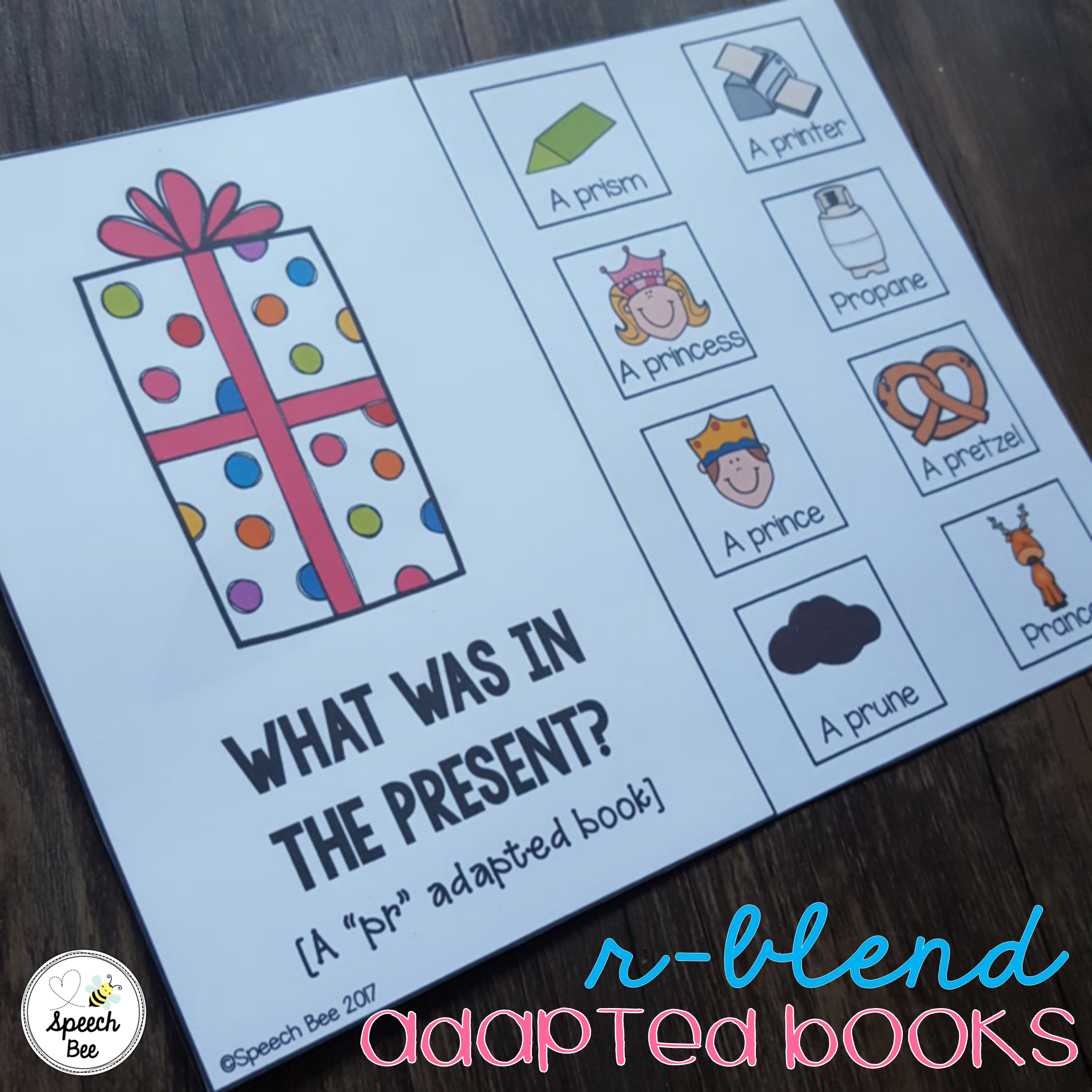 R Blend Adapted Books