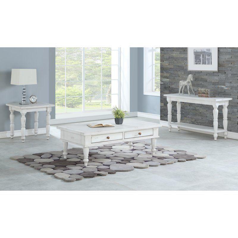 August Grove Spurgeon 3 Piece Coffee Table Set Wayfair 3 Piece