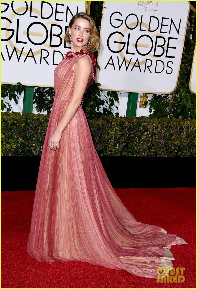 Amber Heard / Golden Globes 2016 | [fashion] dresses | Pinterest