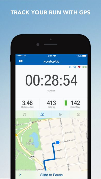 Runtastic Pro Running Jogging And Fitness Tracker By Runtastic Gone Free App Iphone Apps Fitness Tracker