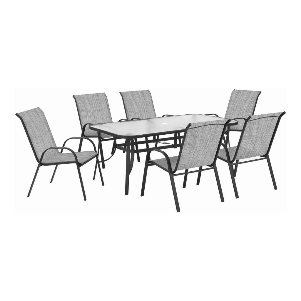 Garden Chairs Makro - Terrace Leisure 9 Piece Manor Textilene