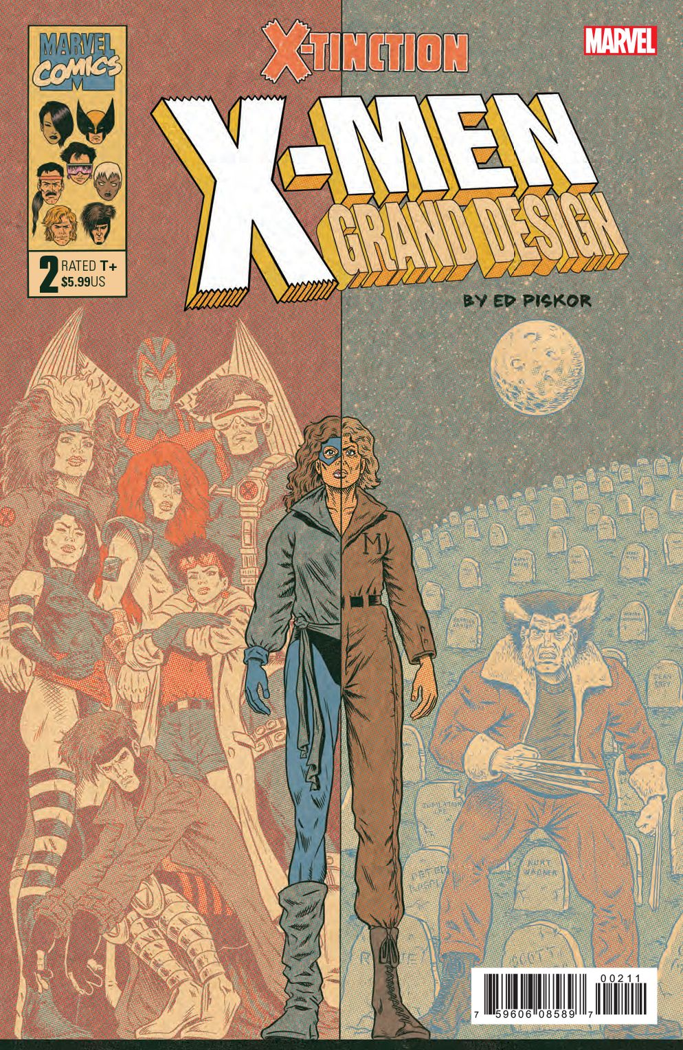 X Men Grand Design X Tinction 2 Marvel 2019 Nm Grand Designs Comics X Men