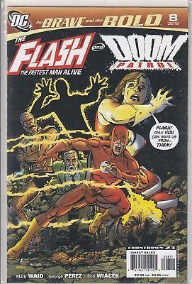 The BRAVE and the BOLD #8 DC Comics Jan 2008 Flash Doom Patrol