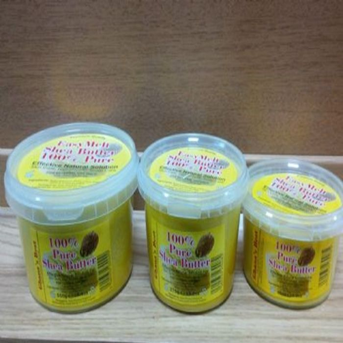 100 shea butter for skin hair scalp growth effective