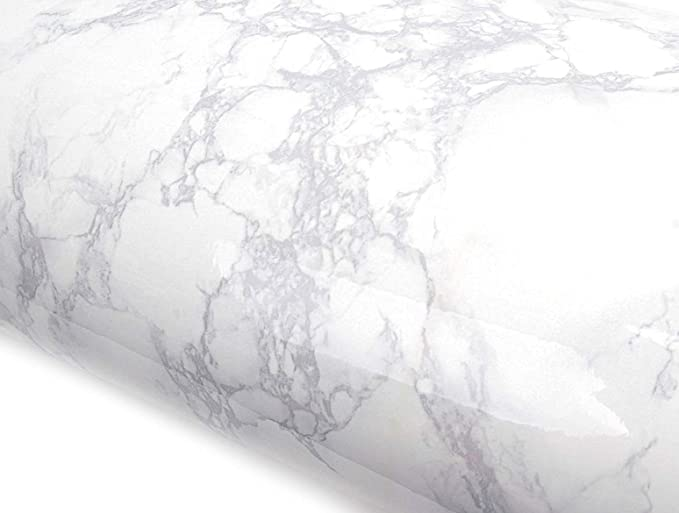 Amazon Com Roserosa Peel And Stick Pvc Faux Marble Instant Self Adhesive Wallpaper Covering Counterto Countertop Backsplash Faux Marble Faux Marble Countertop