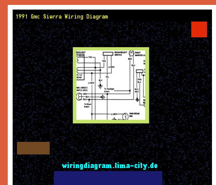 1991 Gmc Sierra Wiring Diagram  Wiring Diagram 175851