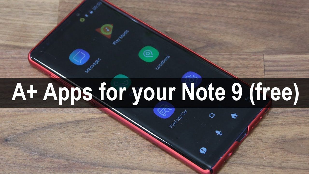5 Must Have Apps For Samsung Galaxy Note 9 Free Without Ads Youtube Galaxy Note 9 Galaxy Note Samsung Galaxy