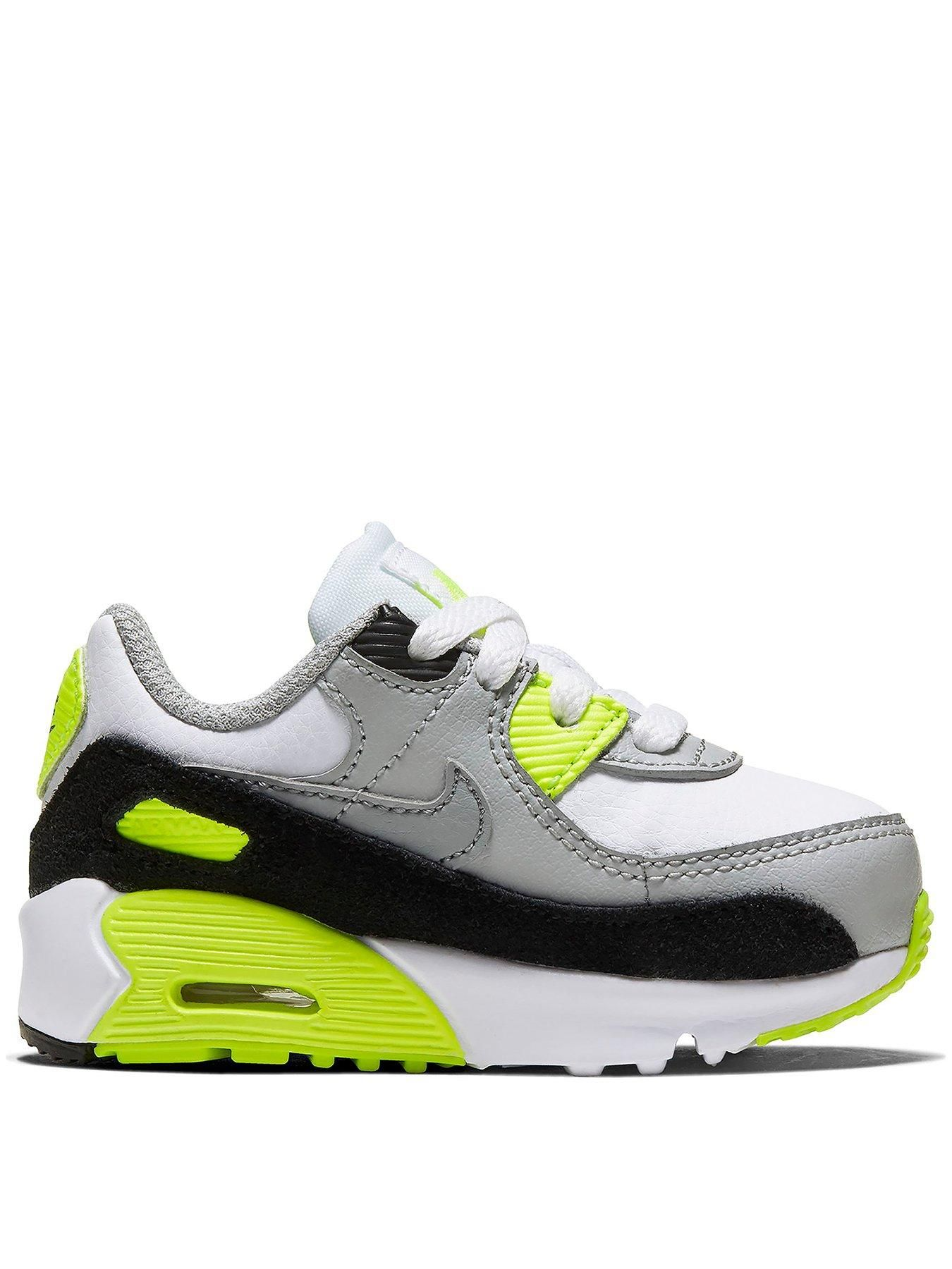 Air Max 90 Infant Trainers - White/Grey
