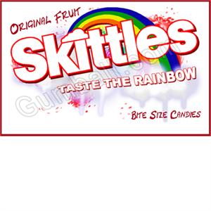 Skittles Vending Label Skittles Skittles Ad Taste The Rainbow