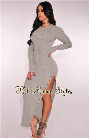 bf3b83f0 Black Bodycon Dress, Peplum Dress, Crepes, Button Up Maxi Dress, Clubwear  Dresses