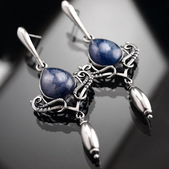 Grace  intricate sterling silver earrings by BartoszCiba