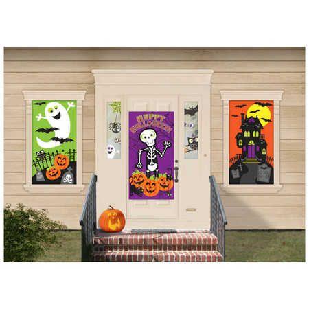 Halloween Scene Setter Mega Value Pack Halloween { BIG W Buys - halloween scene setters decorations