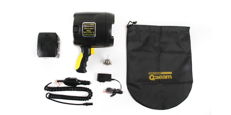 Free Shipping Brinkmann QBeam 800-2380-W Max Million III Rechargeable Spotlig..