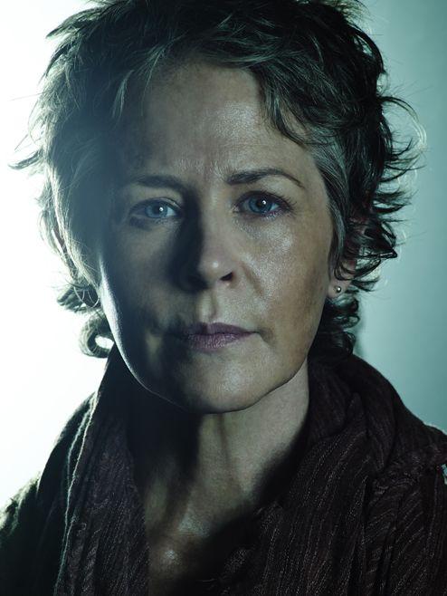Carol Peletier (Melissa McBride) The Walking Dead Season 5 Blue Cast Portraits